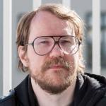 Halldór Auðar Svansson, oddviti Pírata í Reykjavík.