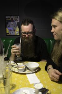 Bibbi og Þrábi, eins og hann er oft kallaður í blogginu.