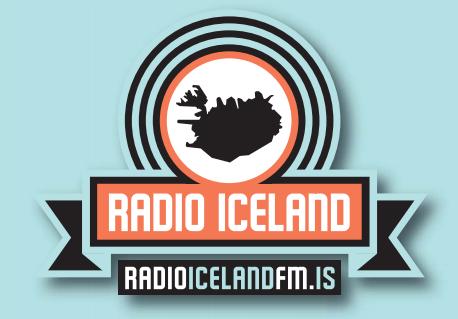Einkennismerki nýju útvarpsstöðvarinnar.