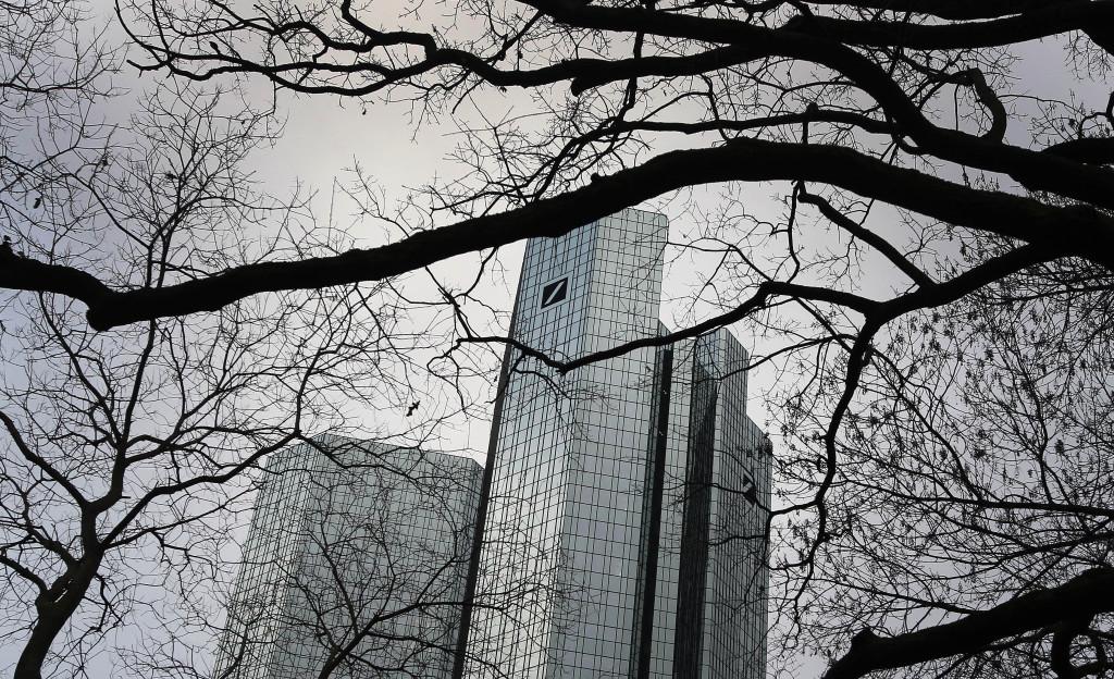 Deutsche Bank átti mikið undir í íslenska efnahagshruninu.