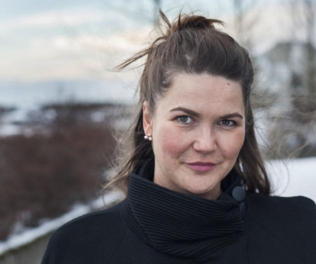 Sunna Valgerðardóttir, fréttamaður á RÚV.