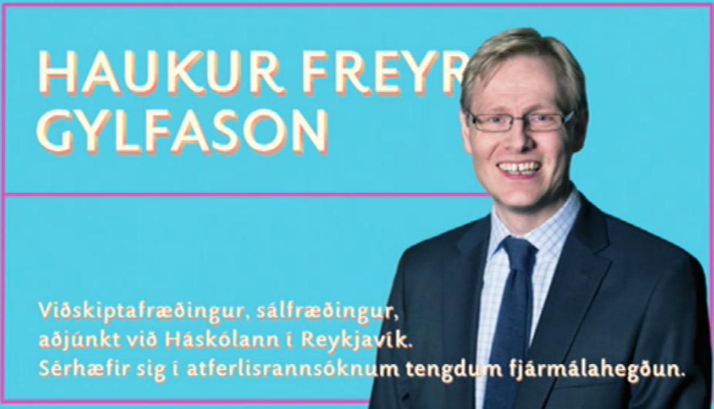 Haukur Freyr Gylfason, aðjúnkt við HR.