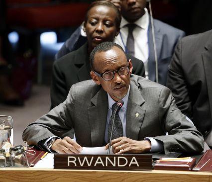 Paul Kagame, forseti Rúanda.