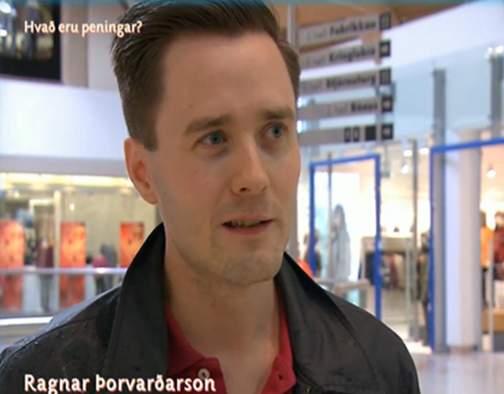 Ragnar Þorvarðarson í þáttunum Ferð til fjár.
