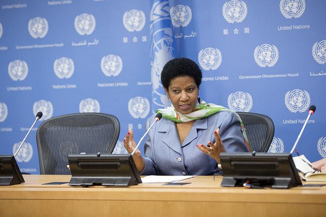 Phumzile Mlambo-Ngcuka, framkvæmdastýra UN Women. (MYND/UN WOMEN)