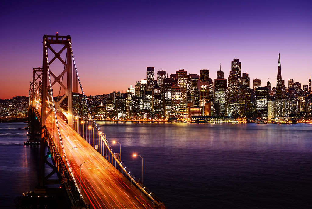 Frá San Francisco. Mynd: EPA.