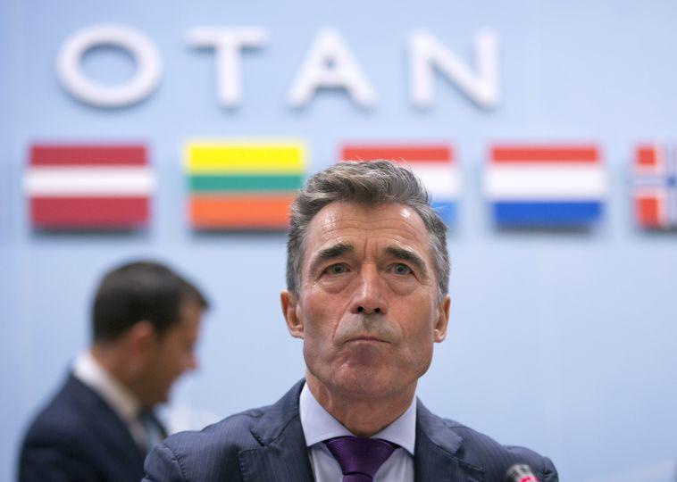 Anders Fogh Rasmussen, fyrrverandi forsætisráðherra Danmerkur og framkvæmdastjóri Nato. Mynd: EPA