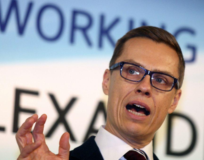 Alexander Stubb, forsætisráðherra Finlands. Mynd: EPA