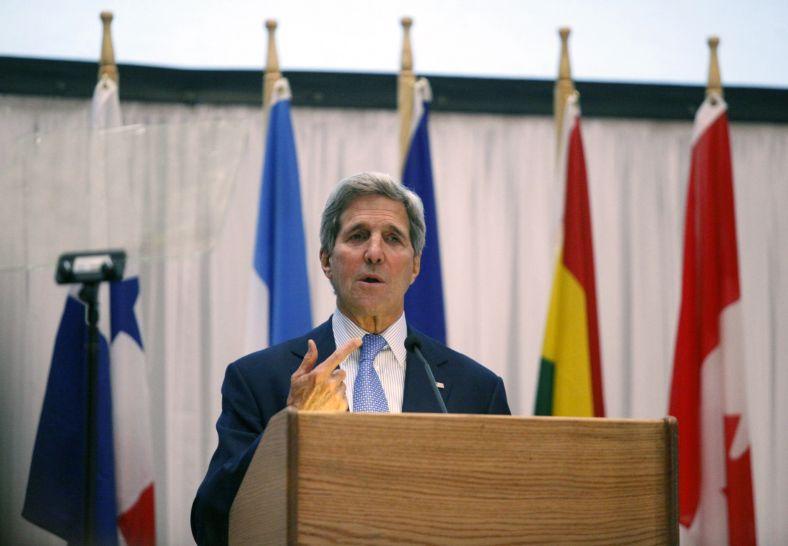 John Kerry, núverandi utanríkisráðherra Bandaríkjanna. Mynd: EPA