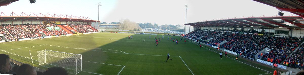 Goldsands Stadium verður sá minnsti sem leikið hefur verið á í ensku úrvaldsdeildinni.