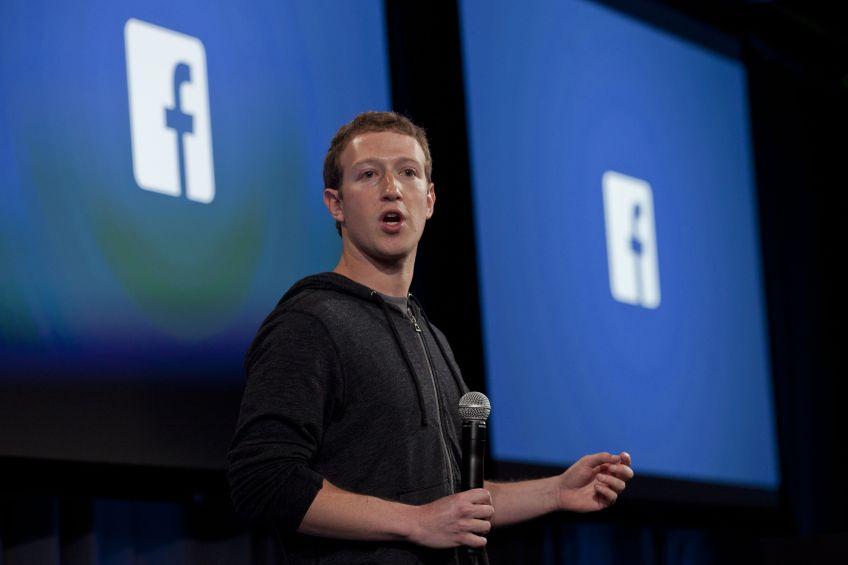 Mark Zuckerberg, auðkýfingurinn og hinn umdeildi stofnandi Facebook. Mynd: EPA