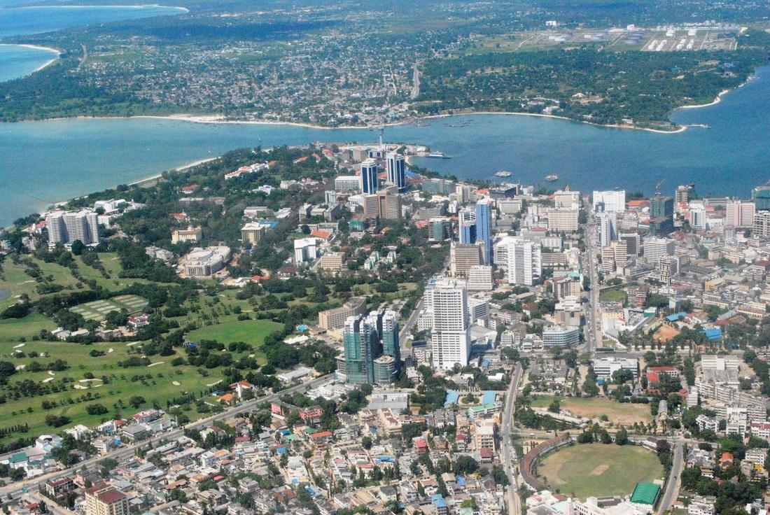 Margar borgir í Afríku vaxa hratt, m.a. Dar es Salaam.
