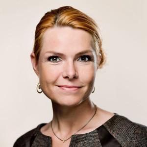Inger Støjberg, félagsmálaráðherra í Danmörku.